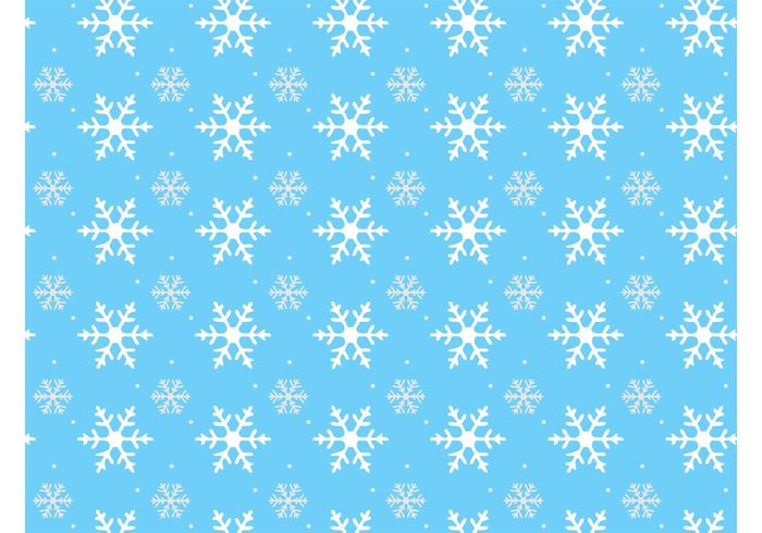 winter weather wallpaper snow silhouettes greeting card frozen frost dots crystals cold christmas background