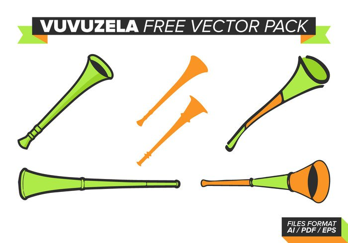 white vuvuzela victory vector trumpet symbol Supporter Studio sport south sound soccer sign set red poster pipe one object noise Match Loud isolated instrument illustration icon horn green game football flyer flat flag fan equipment design cup concept banner background africa