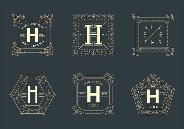 wedding vintage vector template swirl stylish style sign set royal retro refined ornate ornament old monogram modern minimal luxury logo letter label jewelery hotel logos hipster heraldry graphic graceful frame flower flourish floral feminine emblem element elegant design decorative decoration decor cute crest classic calligraphic boutique border background art antique