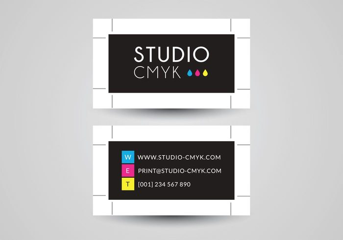 yellow vector up template shape printhouse printer print press paper paint model mockup Mock Magenta logo isolated ink element drop drip design cyan crop marks concept computer visiting card design colorful color cmyk card business brush branding blob black abstract