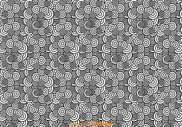 black and white abstract circle pattern 145323 welovesolo