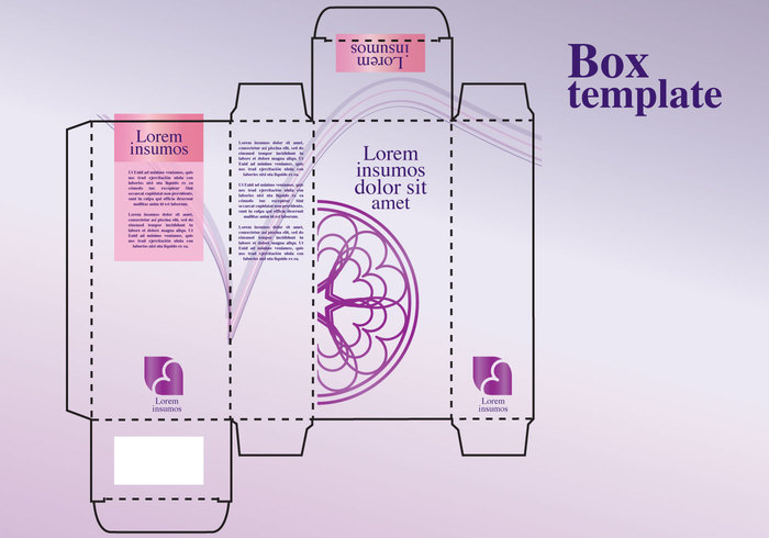 Perfume box design 137989 welovesolo for Cologne box template