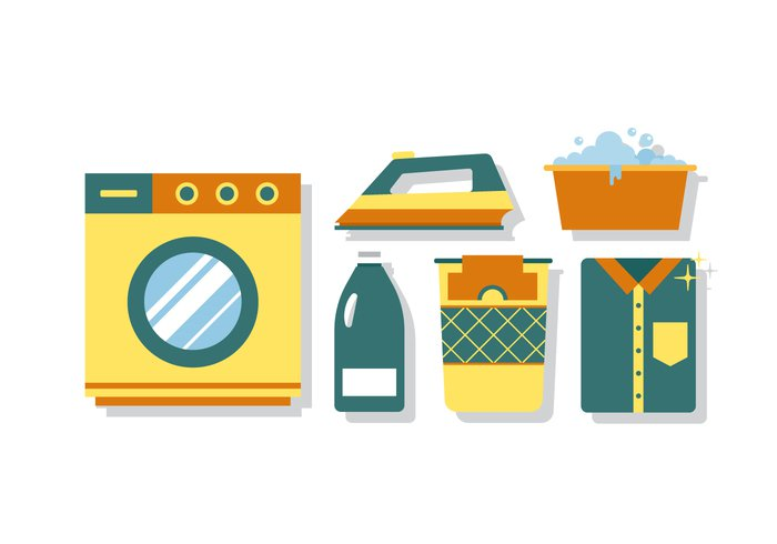 washing wash vector symbol spring cleaning spray sponge soap sign set service Purity object modern machine laundry isolated Ironing illustration icon hygienic Hygiene Housework household equipment element dry Domestic detergent design cloth cleaning services Cleaner clean bucket bottle basket background automatic appliance