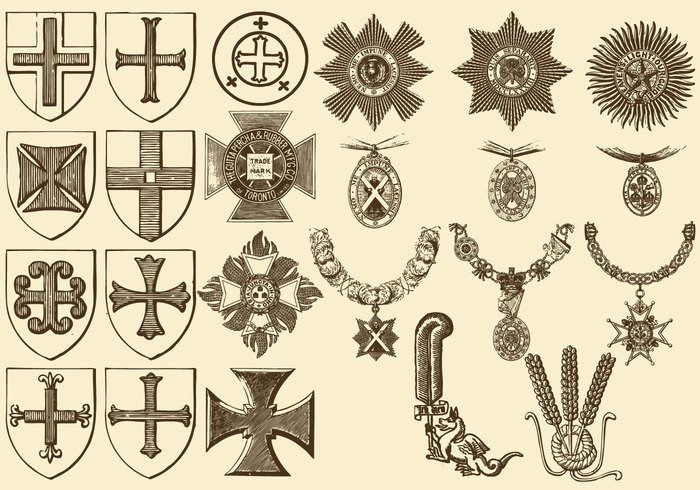 white vintage vector swirl style set renaissance ornate ornamental ornament old motif medal maltese cross luxury line jewelry Jewellery jeweler isolated ironwork illustration Illustrated history historical graphic floral etching engraving engraved element elegance drawn drawing design decorative decoration cross collection black background artwork art antique ancient