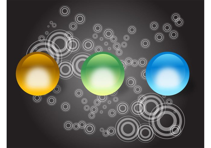 Text space shiny shine shadow round reflection pattern Geometry Geometric Shape colors colorful bright ball background
