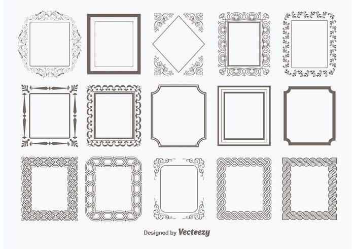 Decorative Vector Frames 113632 - WeLoveSoLo