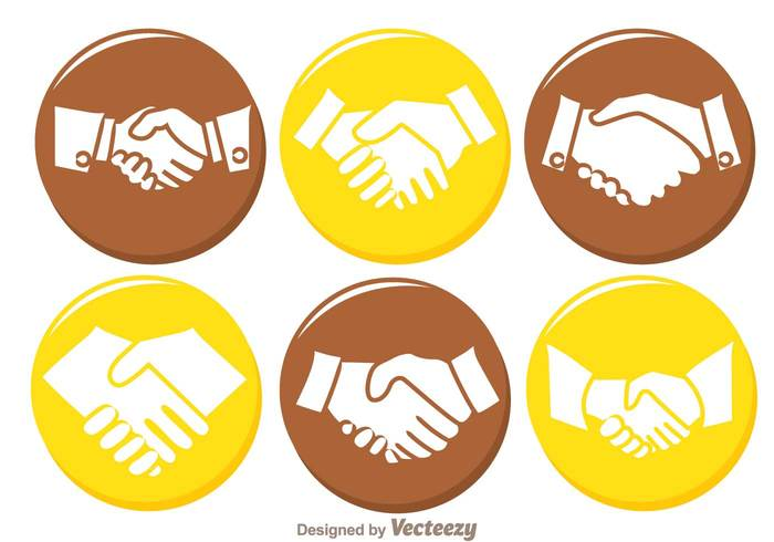 yellow Relationship Partner meeting handshake icons handshake icon handshake hand shake hand friendship friend freinds finger contract circle bussiness brown