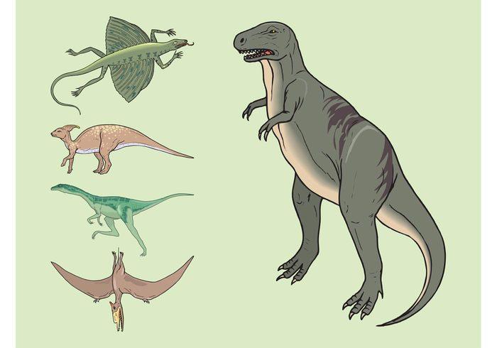 wings Tyrannosaur rex t-rex run pterodactyl Lizards legs fly Extinct evolution Dinosaurs dinosaur comic cartoon animals