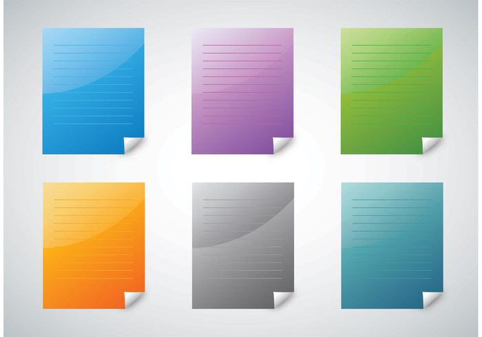 Vector footage symbol stationary school paper sheet paper icons office logo icon Graphic freebies Background footage