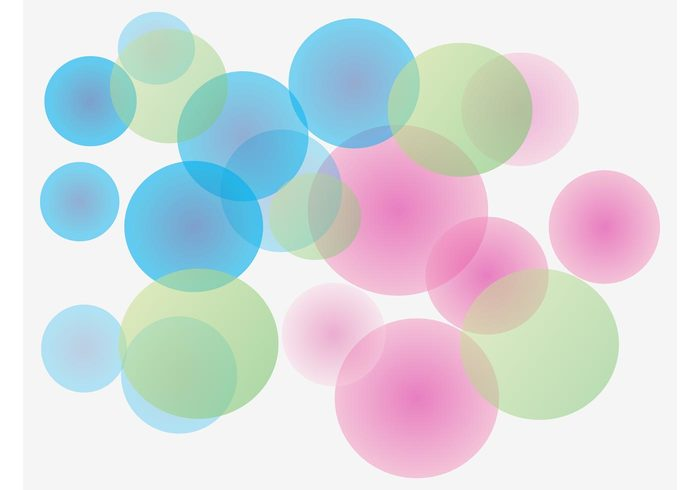 wallpaper round pattern pastel colors Geometry geometric shapes decorations colorful circles bokeh background