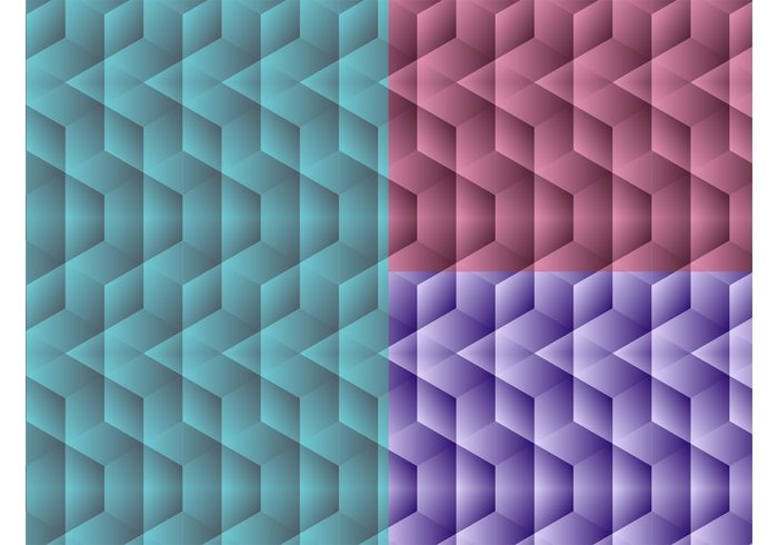 wallpaper three-dimensional seamless optical illusion Geometry geometric shapes colors background 3d