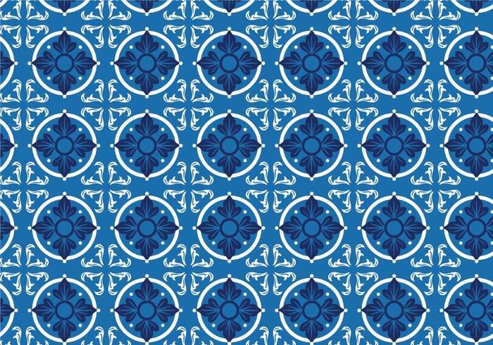 tile portuguese tile Portuguese pattern ornament leaves leaf illustration floral decoration background