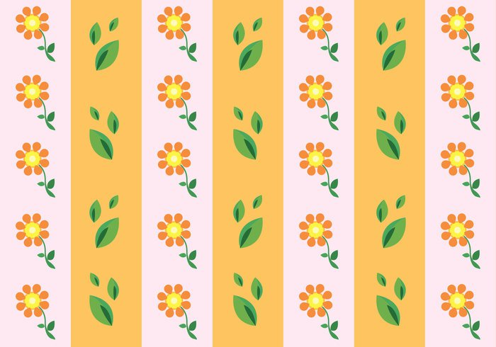 tropical tile summer season Patterns Harmony girly flower floral background