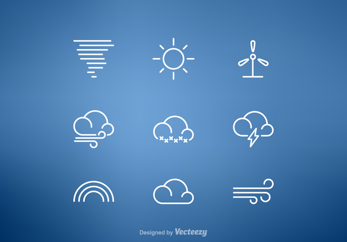 wind web weather vector trendy tornado thin symbol sun stroke storm snowflake snow simple sign set outline Meteorology line ios interface icon graphic element design cool breeze cloudy cloud clip art clean blizzard app