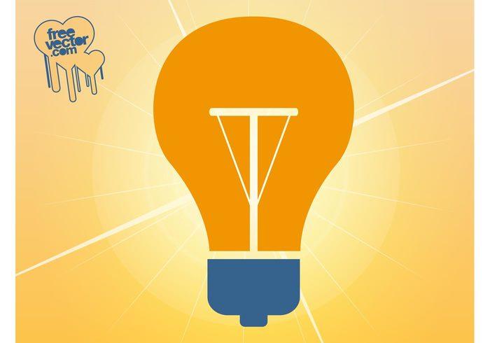 symbol logo lightbulb light bulb light lamp Incandescent icon globe electricity electric bulb