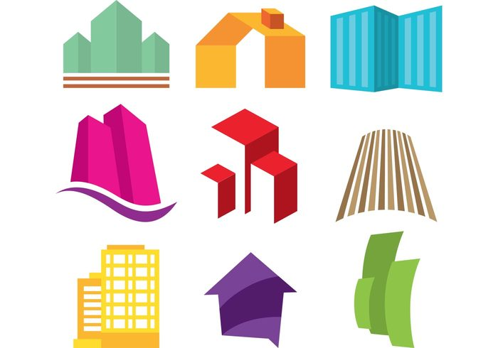 town symbol structure rent realtor logo realtor real estate visiting card design real estate logo real estate Property office modern investment industries icon house home estate corporate contemporary construction city business architecture apartment