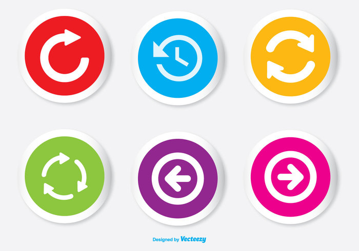 yellow website webpage user interface undo ui sticky paper Spot signpost sign set score board right replay icon replay red previous pointer emblem point diode pink orientation marker next navigation pictogram left LED internet page site icons icon set directional digital display cursor colorful circular sticker circle label button blue back arrowheads arrow icon arrow glyph application icon app button