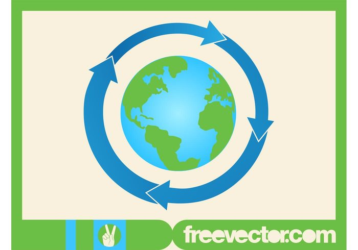 world pointers planet oceans nature logo islands icon globe global geography environment earth continents arrows