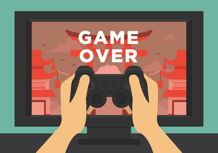 wallpaper videogame video technology symbol Sorrow separate screen retro red play pixel pictogram Partner Pain over old object nerd Loss lose logo layout illustration Hurt heart graphic gaming game-over game fun finish end electronic console computer color clip china town background arcade 8 bit
