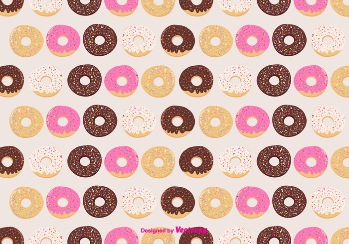 yummy vector toppings Tasty sweet sugar sprinkling sprinkles repeat print pink pattern pastry national donut day illustration glaze free food flour doodle donuts donut pattern donut day dessert collection chocolate cafe breakfast bakery background