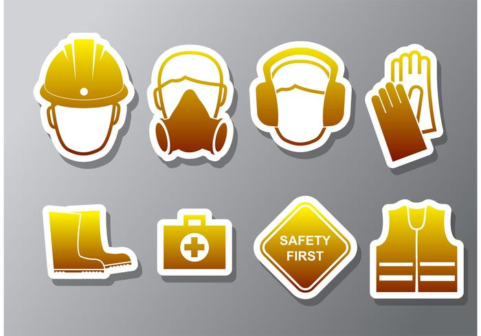 safety icon safety safe icon Safe rules risk protective protect notice manufacture informative information industry industrial health and safety health danger construction