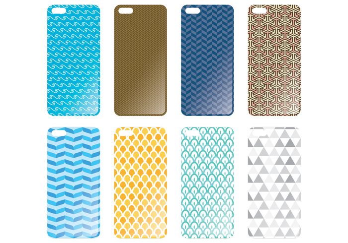 vector trendy touchscreen template technology style smartphone screen print present phone case phone accessories phone pattern ornate object mobile isolated illustration Idea gift geometric fashion element display digital design decoration decor cover couple concept communication cell case business bag background back art abstract