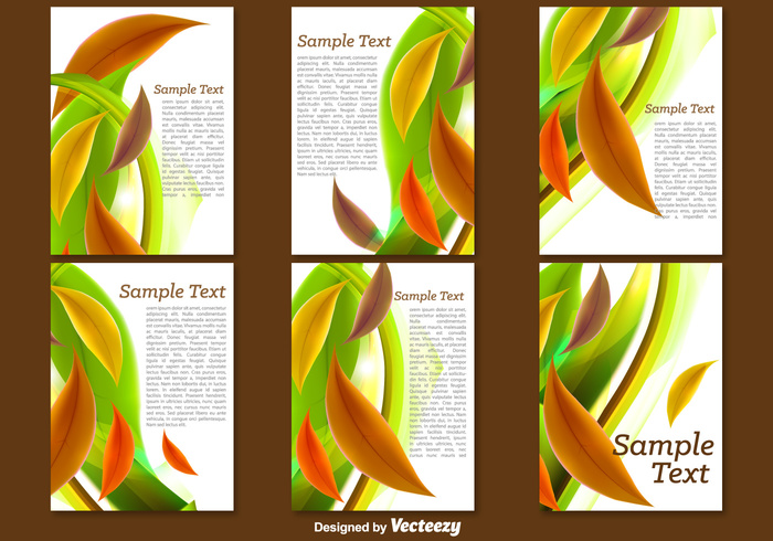 template spring poster nature magazine Leaflet layout headline green fold flyer cover catalog card brochure booklet blank banner background abstract