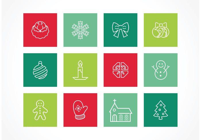 xmas icon xmas winter tree star snowman snow santa present pictogram outline jingle bells holiday gift December Claus church Christmas icon christmas desserts christmas celebration candle bow ball