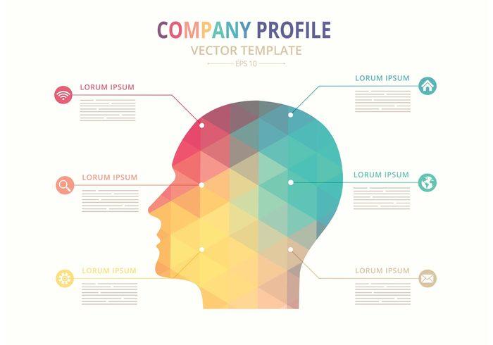 Free Vector Company Profile Template 114335 - WeLoveSoLo
