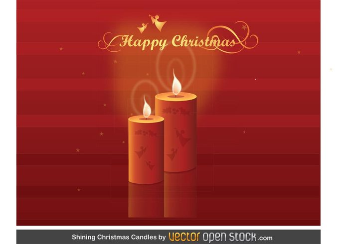 xmas winter Tradition still life red party light holiday flame Eve decoration christmas celebration celebrate candle bright background backdrop