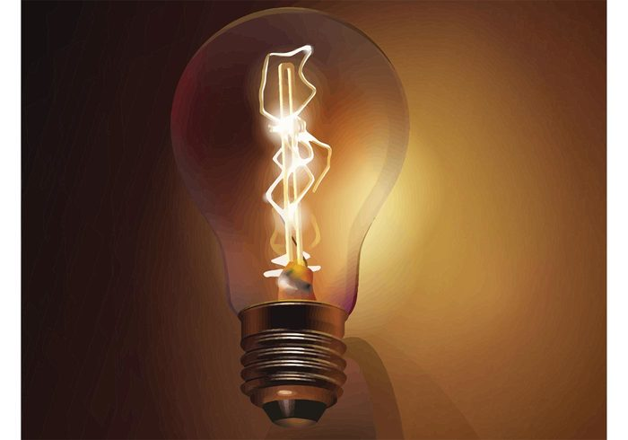 yellow power object light bulb light lamp isolated inspiration illuminated Idea glass equipment energy electricity concept bulb bright background