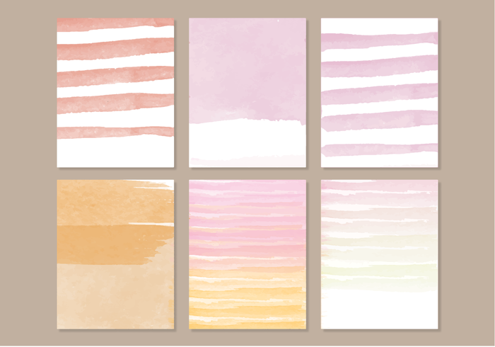 watercolor elements watercolor vector watercolor elements summer watercolor painted objects collection cards background