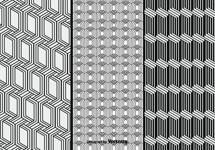 white wallpaper vector triangular square simple black patterns seamless pattern monochrome linear Geometry geometric free flat decorative decoration cube block black background abstract