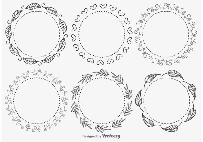 vintage victorian shape round retro plant ornate old fashioned modern leaf frame leaf hand drawn graphic frame set frame flourishes floral frames floral filigree engraving embroidery Design Elements design decorative frames decorative decoration decor cute frame cute circular circle border antique abstract