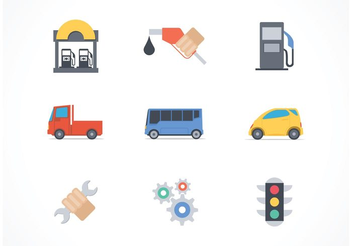 vehicle vector transportation transport tool technician symbol Supply station spare service repair power petrol pump oil droplet maintenance instrument icon help garage fix element Dealer car automobile auto abstract