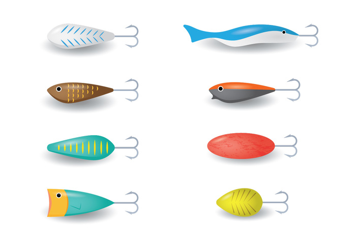 white vintage vector Tackle summer set sea river reel Recreation plastic nature material lure line isolated illustration icon hook holiday Hobby float fishing fish-hook fish fiber equipment design Catch bait activity