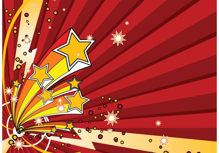 universe surprise star sparkle space shape retro rays line fractal Fire works festive Explodes digital decoration celebration bright background 3d