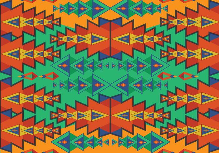 tribe tribal print pattern orange native mystic mexican line latin american Indigenous indian historical ethnicity decorative decoration culture colorful civilization border background aztec patterns aztec pattern Aztec ancient american