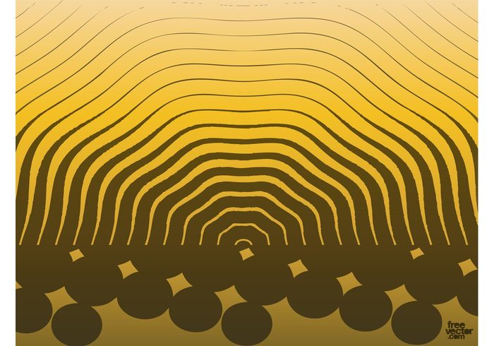 Vector backdrop pop art pop luxury lines golden gold dots design element decoration cool background design