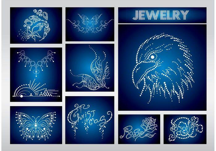 symbol shopping shop shiny rich plants pearls money jewelry jewel glossy elegant eagle diamonds christmas buy