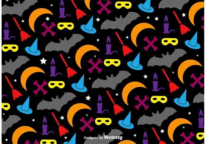wrapping wallpaper silhouette seamless scary pumpkin pattern orange October icon horror halloween ghost Fear decorative death dead Cranium cartoon Bone black bat background backdrop autumn