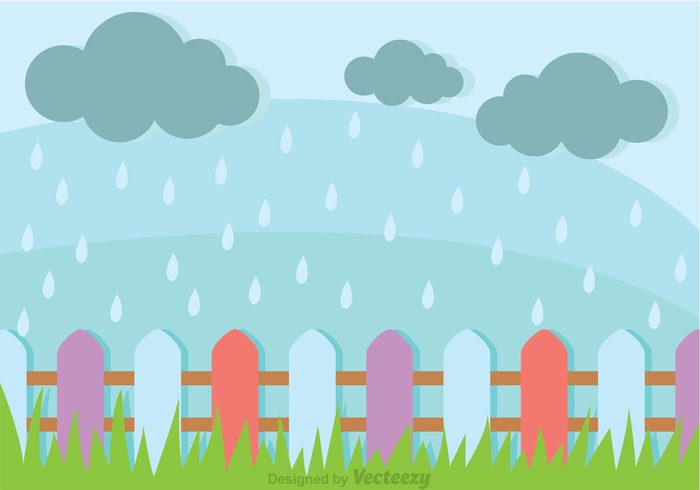wood spring showers spring shower spring sky showers rainy rain picket fence wallpaper picket fence landscape wallpaper landscape background landscape green grass field fence cloud