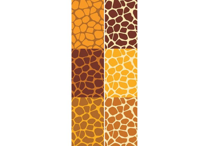 yellow wild wallpaper vector pattern vector stylish style set print pattern set pattern papers nature illustration Idea graphic giraffe print giraffe fashion design decorative decoration decor creative brown background backdrop animal print animal africa