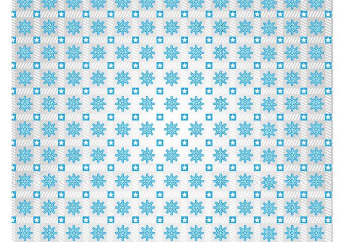 winter weather wallpaper symbols stripes stars squares snowfall snow seamless pattern lines icons geometric shapes cold climate background