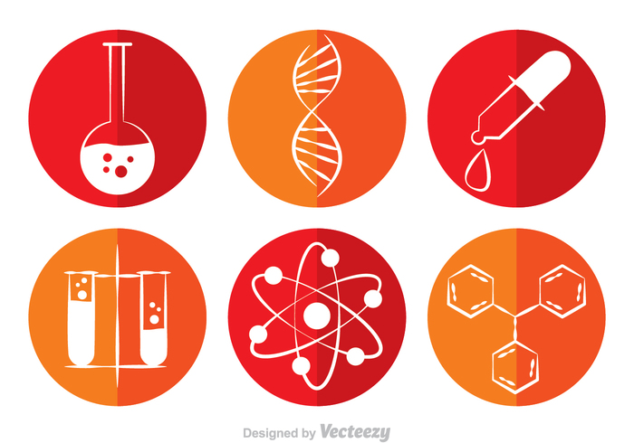 test scientific science icon science research medical medic helix element drug double helix double DNA cube chemistry atom