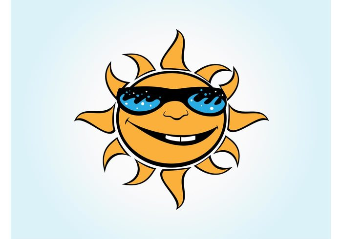 tattoo designs tattoo sunshine sunny sunglasses sun summer shades radiant party nature Flash comic characters Cartoons
