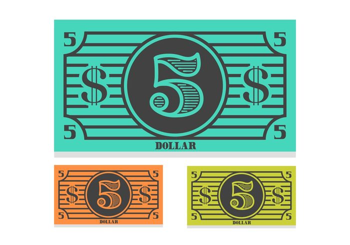 vector treasure template symbol Single simple silhouette sign shape set purse paper money Loan line item isolated investment illustration icon graphic font financial finance Exchange element dollar design currency commerce collection cash bucks bill banking bank background art american 5 dollar bill