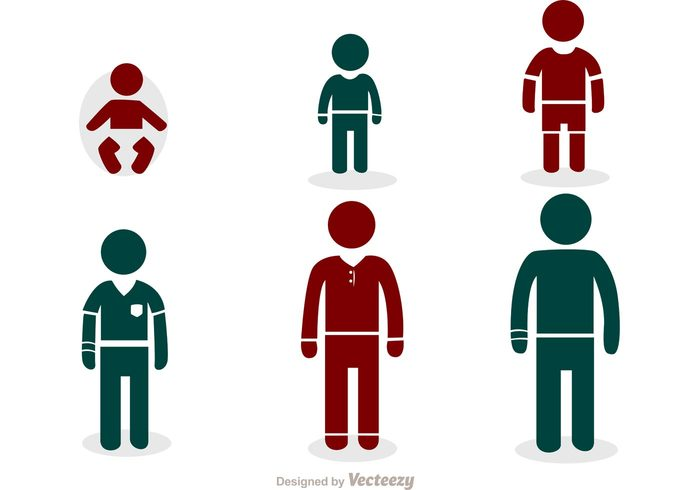 young Toddler thin teenager stick figure icon stick step stages silhouette process pictogram person people newborn man life kid infant infancy Human height growth growing Generations figure evolution development childhood child boy baby aging Age Adult