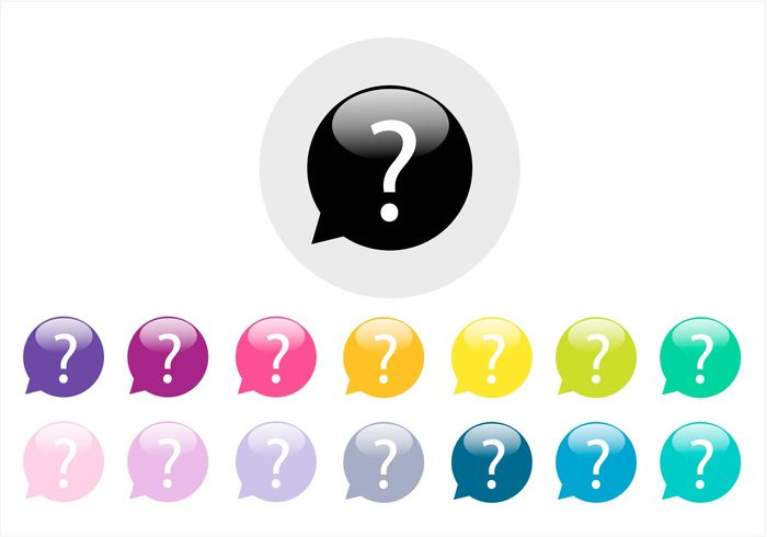 web support sign shiny Questions question marks question mark icon question mark background question mark question icon icon help glossy concept colorful button ask