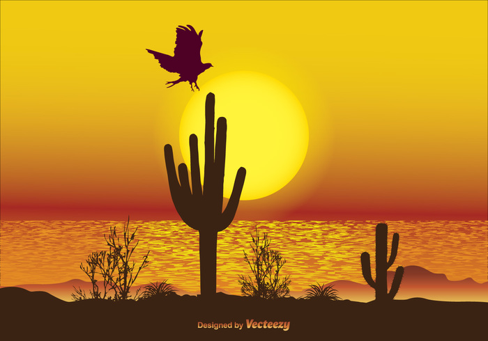 yellow sky yellow wildlife wilderness wild water vacations travel tranquil sunset sunrise sky silhouette sea scenery scene plants outdoors outdoor scene orange ocean nature scene nature mystical landscape Marines Majestic landscape Journey heat Flying bird dusk Coastline cactus bright black bird background animal